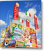 Fair Food Metal Print