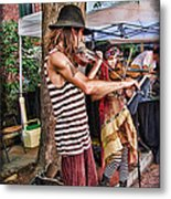 Faire Performers Metal Print