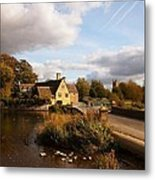 Fairford Mill In The Evening Metal Print