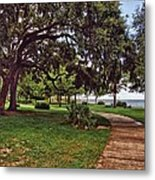 Fairhope Lower Park 2 Metal Print
