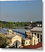 Fairmount Waterworks And Dam Metal Print