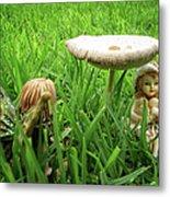 Fairy Garden Metal Print