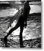 Fairy Water Dance Metal Print
