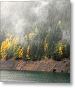 Fall At The Lake 2 Metal Print