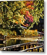 Fall At Tyler State Park Metal Print