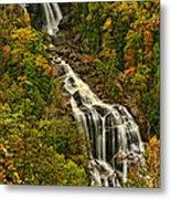 Fall At Whitewater Falls  Metal Print