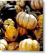 Fall Bounty Metal Print