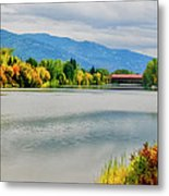 Fall Color At Sand Creek Metal Print