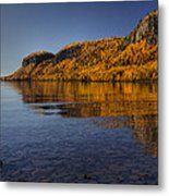 Fall Colours In The Squaw Bay II Metal Print