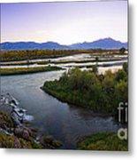 Fall Creek Panorama Metal Print