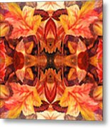 Fall Decor Metal Print