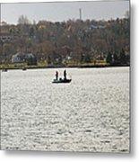 Fall Fishing Metal Print