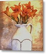 Fall Flowers For You Metal Print