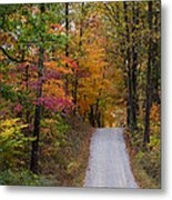Fall In Southern Indiana Metal Print by Melissa Wyatt