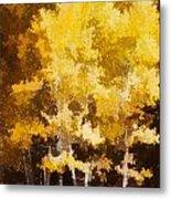 Fall In The Sierra II Metal Print