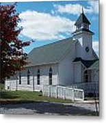 Fall Into Church Metal Print