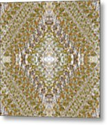 Fall Kaleidoscope Three Metal Print