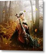 Fall Melody Metal Print by Mary Hood