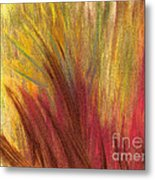 Fall Prairie Grass By Jrr Metal Print by First Star Art