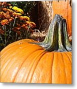 Fall Pumpkin Metal Print by Kimberly Perry
