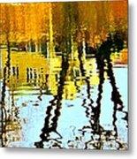 Fall Reflections   Metal Print