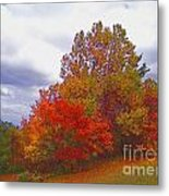Fall Retreat Metal Print