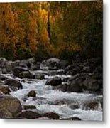 Fall River Metal Print