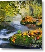 Fall River Metal Print