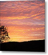 Fall Sunrise Metal Print by Metro DC Photography