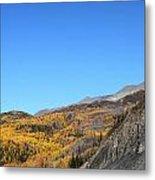 Fall Talkeetna Mountains Metal Print