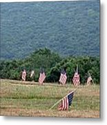 Fallen Soliders Metal Print