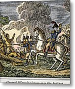 Fallen Timbers Battle Metal Print