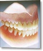 False Teeth Metal Print