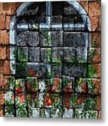 False Windowbox Metal Print