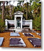 Family Plot Metal Print