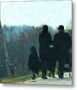 Family Time Metal Print by Debbi Granruth