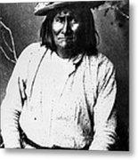 Famous Apache Leader, Geronimo Metal Print by Everett