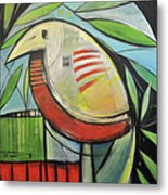Fancy Bird Metal Print