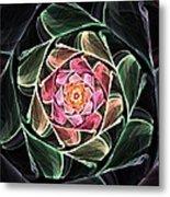 Fantasy Floral Expression 111311 Metal Print
