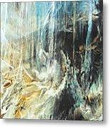 Fantasy Storm Metal Print by Linda Sannuti