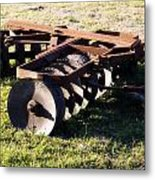 Farm Disks Metal Print