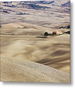 Farm Fields Metal Print