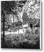 Farm In Illinois Metal Print by Gary Gackstatter