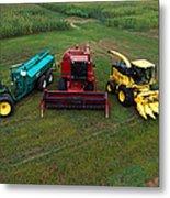 Farm Machinery Metal Print