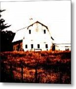 Farm Used Up Metal Print