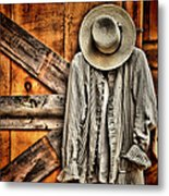 Farmer's Wear Metal Print by Pat Abbott