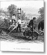 Farming, C1870 Metal Print