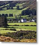 Farmland Near Kilgarvan County Kerry Metal Print