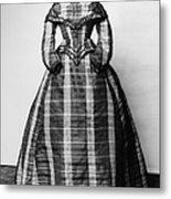 Fashion: Dress, C1865 Metal Print