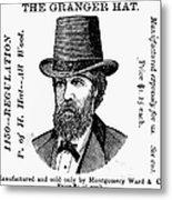 Fashion: Granger Hat Metal Print